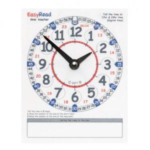 Weatherproof Outdoor Wall Clock EasyRead Time Teacher School Playground Clock ERPG-24 36 cm
