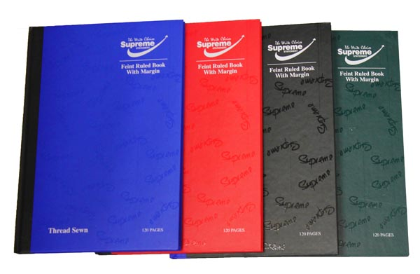 A5 Rainbow Hardcover Notebook Office School Notes Ruled With Margin 160 Pages