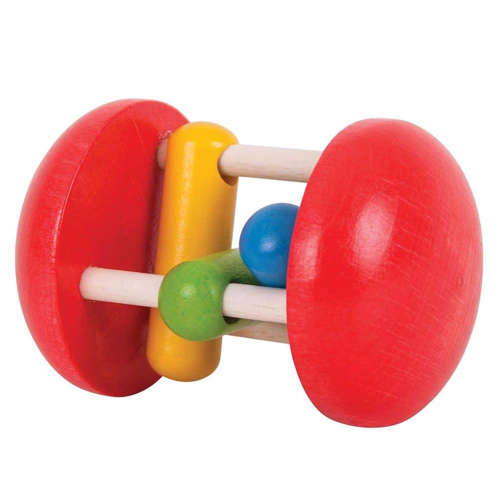 Bigjigs Toys Wooden Primary Twister Sensory Baby Educational Newborn Toy